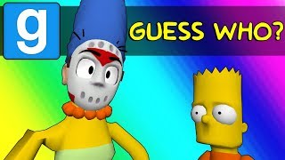 Gmod Guess Who Funny Moments - Springfield's New Police Force! (Garry's Mod)