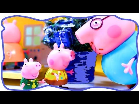 Свинка Пеппа. Мультфильм для детей. Шкатулка с игрушкой.