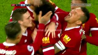 Liverpool vs Man City 4 3 All Goals and EXT Highlights with English Commentary 2017 18 HD 720p