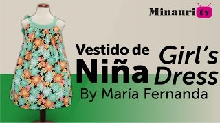Vestido Niña (MR9) - Girl Dress - Vestito Bambina - Robe Fille - Mädchen-Kleid