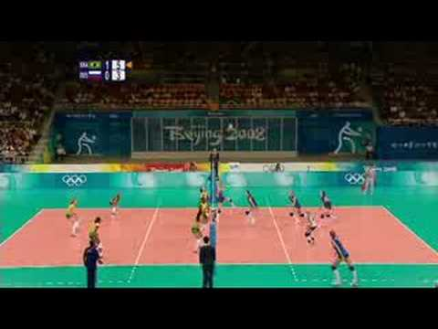 Brazil vs Russia - Women's Volleyball - Beijing 2008 Summer Olympic Games