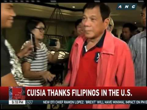 Outgoing PH Ambassador Cuisia thanks Filipinos in U.S.