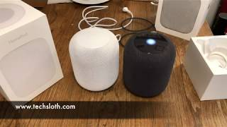 Apple HomePod unboxing and first impressions   ENGLISH 4K