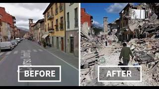 Massive Earthquakes Caught On Camera