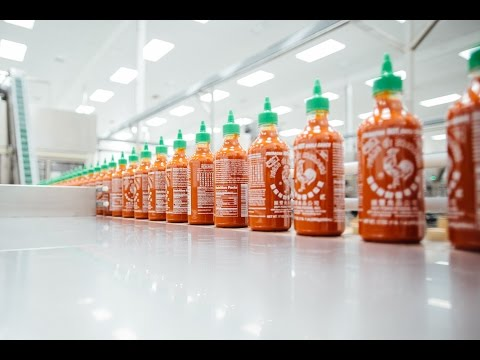 "HYPEBEAST Process: Sriracha's Famous ""Coc... Rooster"" Sauce"