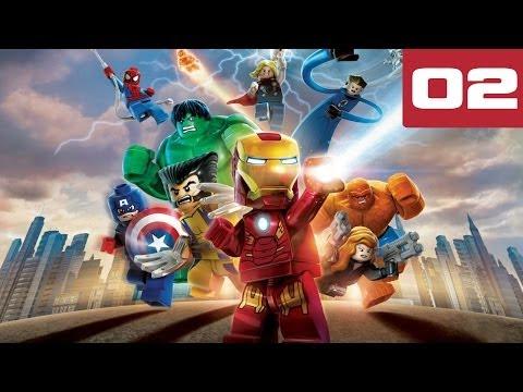 LEGO MARVEL Super Heroes Walkthrough Part 2