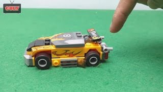 Lắp ráp xe đua 4 bánh của tội phạm -  đồ chơi Lego Racing Car toy for kid