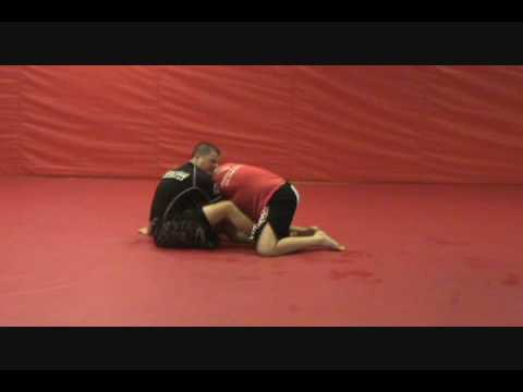 Butterfly Guard - Arm Drag to D'arce Choke Image 1