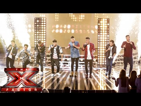 Stereo Kicks sing Katy Perry's Roar | Live Week 1 | The X Factor UK 2014