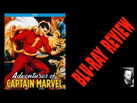 ADVENTURES OF CAPTAIN MARVEL (BLU-RAY REVIEW) KINO LORBER STUDIOS