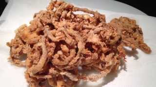 How to Make Haystack Onions and Onion Rings