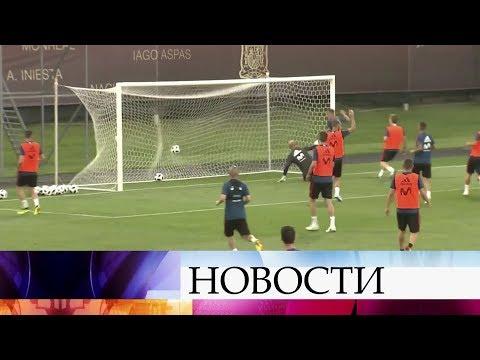 В Россию продолжают прибывать сборные команды по футболу со всего мира.