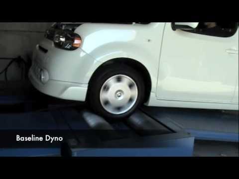 09-10 Nissan CUBE Takeda Air Intake System Dyno