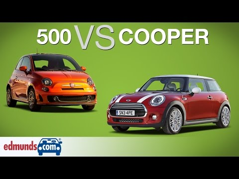 FIAT 500 vs MINI Cooper | Which Sub-Compact is Best?