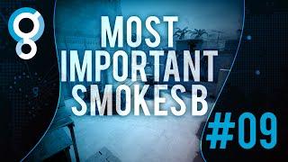 GA CS:GO   FalleN   S01E09 - Most important smokes B site