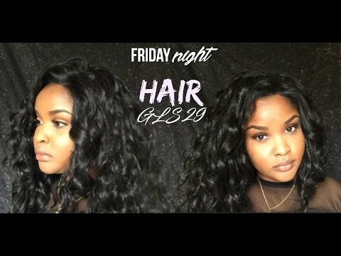 MOST NATURAL affordable synthetic unit   Friday Night Hair Review GLS 29