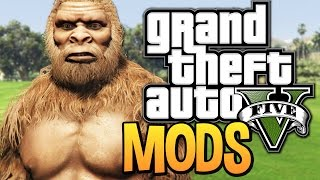 GTA 5 - THE BEST MODS RELEASED SO FAR ! (GTA 5 Funny Moments w/ PC Mods)