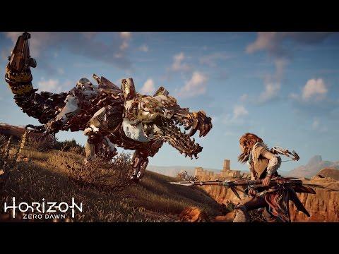 Мир будущего населенный роботами динозаврами. Фантастический игровой фильм Horizon׃ Zero Dawn