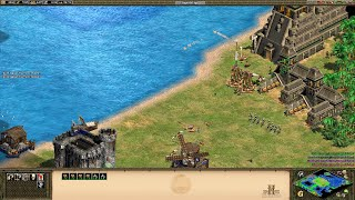Age of Empires II HD Campaigns | Montezuma 3.6 Broken Spear (Hard Mode)