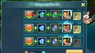 pokeland legends / monster manual - RECYCLE PACK EVENT