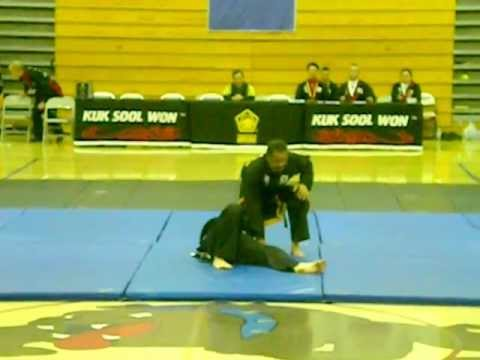 Blind Kuk Sool Won JKN Demonstrates Techniques Image 1