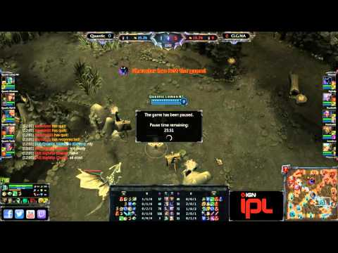 CLG Prime vs Quantic - Game 1 - IPL5 Wild Card Qualifiers - IPL5