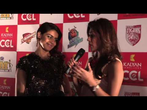 CCL Season 3 Curtain Raiser- Genelia D'Souza