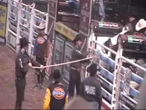 PBR Bull Riding in Worcester Massachusettes Video