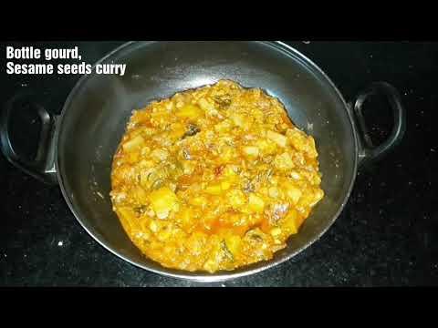 Bottle gourd Sesame seeds | Sorakaya Nuvvulu |