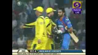 India beat Australia by 6 wicket in 6th ODI
