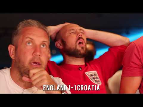 England V Croatia - Ex-Premier League Stars Honest Fan Reaction.
