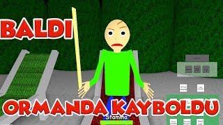 Baldi Ormanda Kayboldu ! / Baldi's Basics 3D Morph RP / Roblox Türkçe