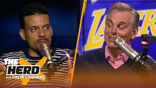 Matt Barnes is confident OKC can beat any NBA team despite dropping to 8th seed | NBA | THE HERD