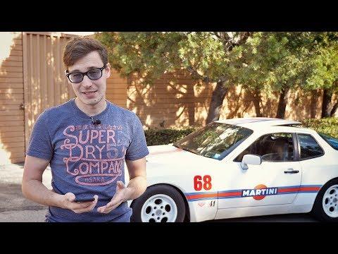 """Самый """"неправильный"""" Порше! Тест-драйв и обзор Porsche 944"""