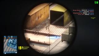 Battlefield 3 m40a5 gameplay