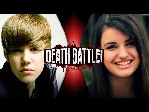 Justin Bieber VS Rebecca Black | DEATH BATTLE!