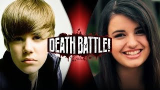 DEATH BATTLE! - Justin Bieber VS Rebecca Black | DEATH BATTLE!