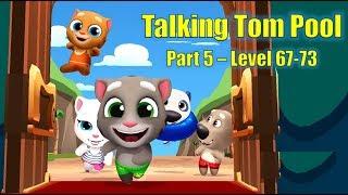 Talking Tom Pool Game Walkthrough Part 6 – Level 67-73