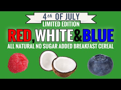 Red, White&Blue All Natural No Sugar Added Breakfast Cereal