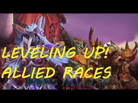 Leveling up Highmountain Tauren Pre-Parche Battle for Azeroth - World of Warcraft - Directo