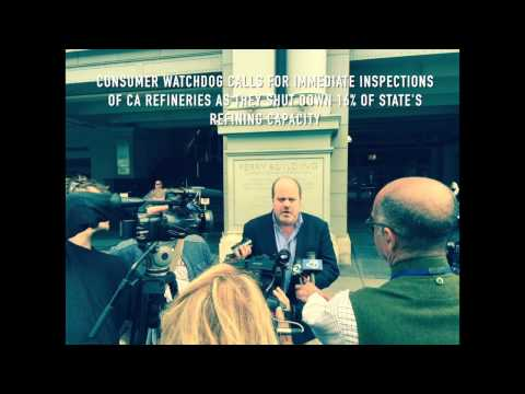 Consumer Watchdog Calls For Immediate Inspections Of CA Refineries - Press Conference Audio