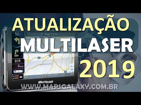 Atualização GPS Multilaser Tracker TV 2016 C/4 Mapas do Brasil