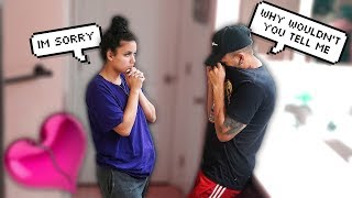 AB0RTI0N PRANK On My Boyfriend! Extremely Emotional, *He CRIED!*