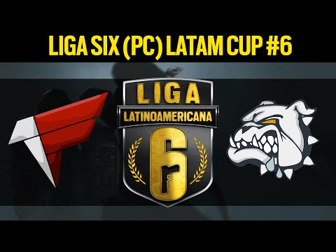[PT] First e-Sports VS. Now.Dogs - Liga Six (PC) LATAM Cup #6  - Rainbow Six Siege