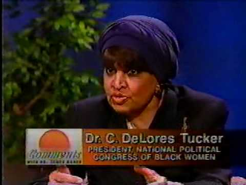 National Political Congress of Black Women, Dr. CTucker2