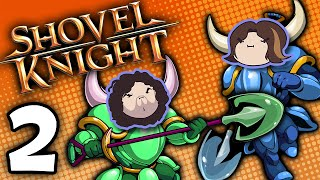 Shovel Knight Co-Op: Snatches and Ladders - PART 2 - Game Grumps