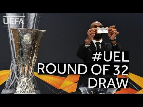 201920 UEFA Europa League Round of 32 Draw