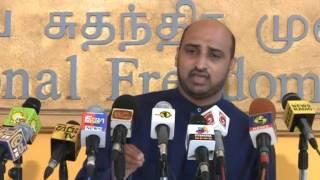 උතුරු මුහුද ඉන්දියාවට දීලා Mohomad Muzammil Jathika Nidahas Peramuna 2015-03-31 jnp press