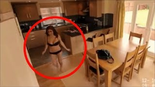 10 Weird Things Caught By Cameras & CCTV #5