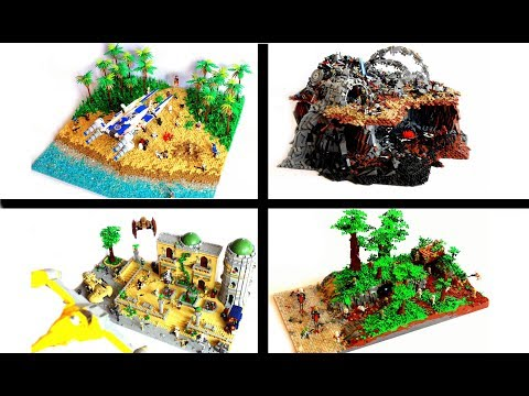 Best LEGO MOCs by First Order Lego in 2017 / LEGO Star Wars MOC